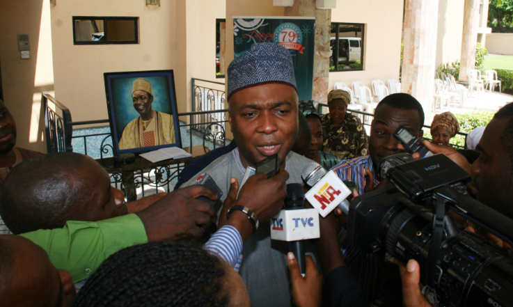 Again, Saraki Refutes Being Sponsored By Oil Cabals