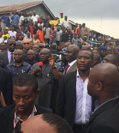 First Day in Office: Gov Ikpeazu Flags off Seven New Roads in Aba