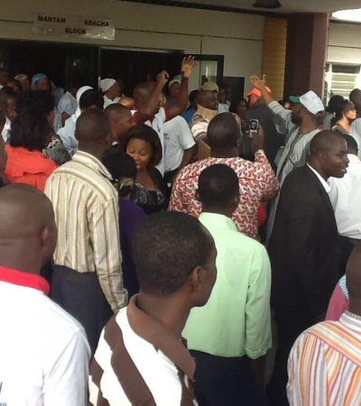 Chaos as police, thugs, attack protesting workers at Enugu Federal Psychiatric hospital