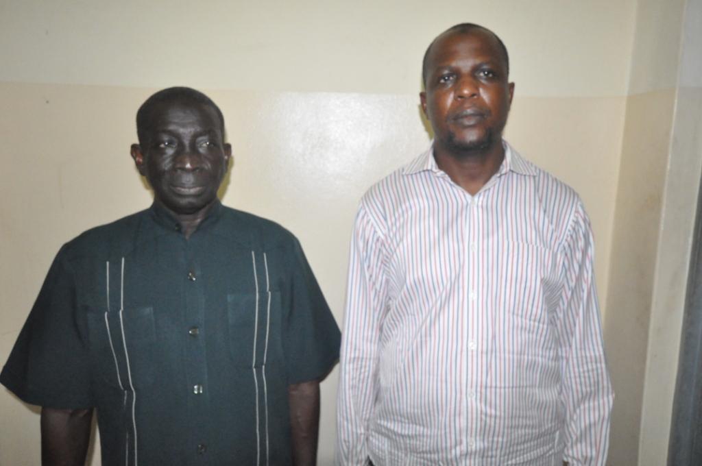 Yahaya Ayodeji and Mohammed Audu