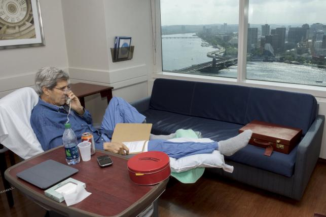 John Kerry leaves hospital, to join Iran talks in late June