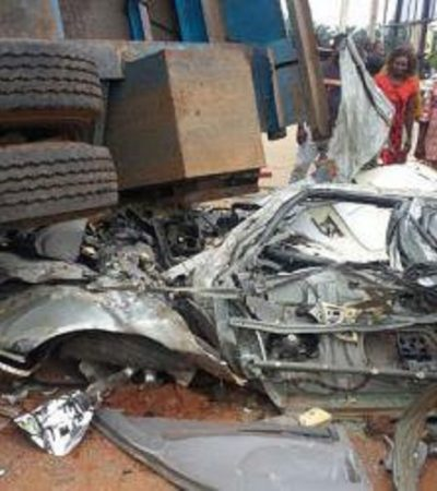 Awka Accident Leaves, Dad, Mum, Son Dead, 3 Children Orphaned