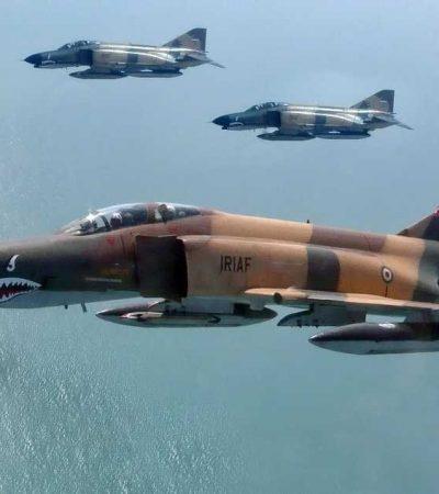 Iran is launching war games focusing on aerial combat