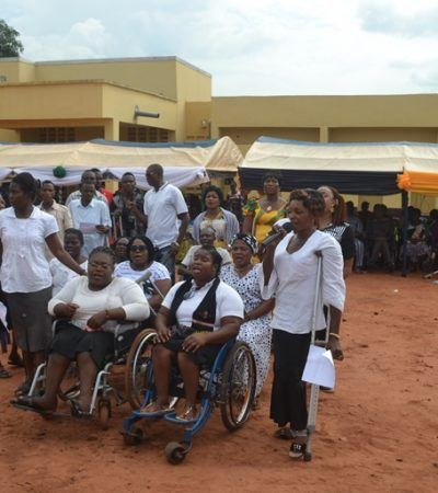 SSDO partners Oxfam, CAFE to graduate 50 physically challenged in phone repairs