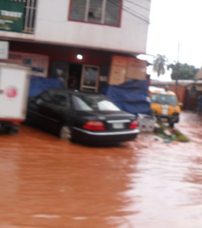 Flooding In Anambra: Limited Storm Control In Eke Awka
