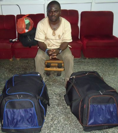 NDLEA Arrests South African Based Grocer With Drugs