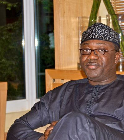 Forget Governorship, Rebuild APC, Youths Tell Fayemi