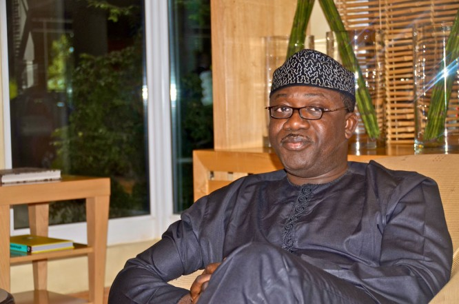"[Interview] ""PDP In Ekiti Are Cowards"" – Fayemi"