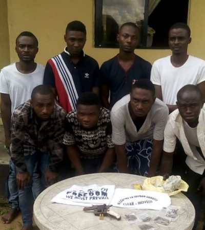 NDLEA Smashed A Group Of Suspected Cultists