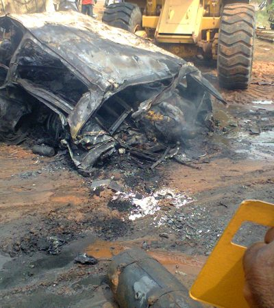 Dangote Truck Roasts12 Persons to Death At Asaba Express Way