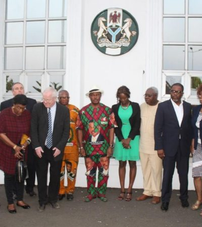 Hope Rises in Anambra as British Trade Delegation Arrives Awka