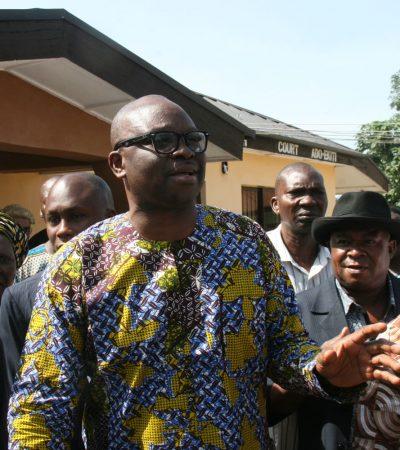[Interview] Obasanjo Begging For Relevance – Fayose