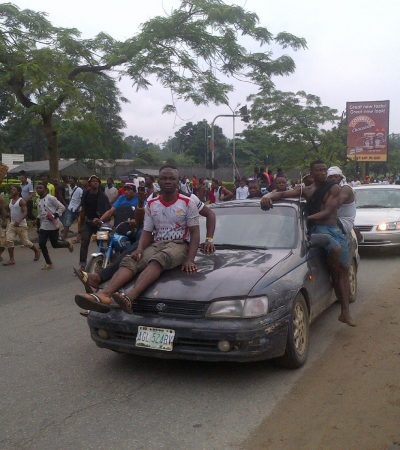 Biafra Protests Hits Port Harcourt Again