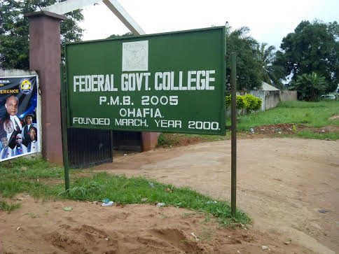 Students Lament Shortage Of Water, Extortion, Insecurity At Federal Govt College, Ohafia