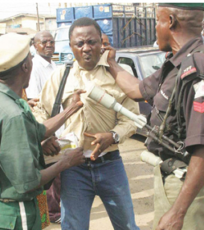 How Thugs Rain Blows on Journalists, Vandalize Their Vehicles in Delta