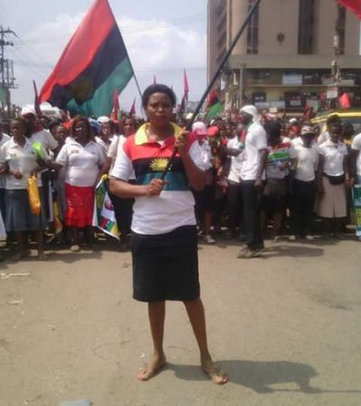 Biafra: Women Protest In Aba Over Kanu's Detention