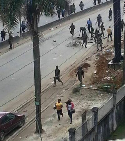 Biafra Celebrations: Army Opens Fire, 4 Killed, 5 Injured, 1 Soldier Dead