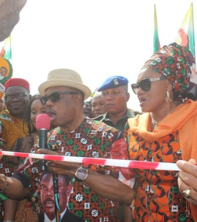 Obiano Performs Partial Opening of Aroma Flyover