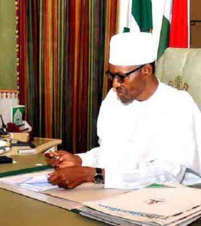 Buhari Resumes Work After Short Vacation