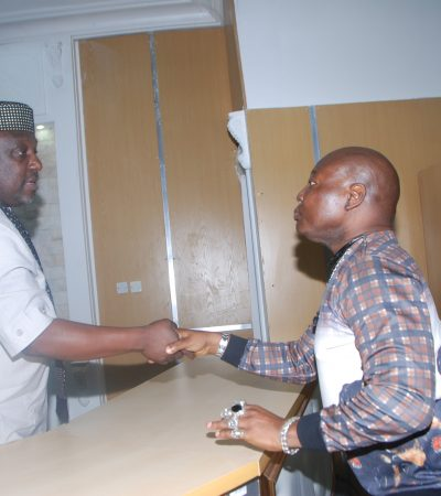 Charly Boy Meets With Governor Okorocha At Government House