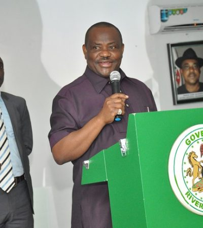 Rivers PDP Unveils Multi-Million Naira Multi-Purpose Hall…As Gov Wike Exposes Grand Conspiracy to Take Over Rivers