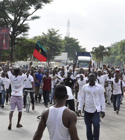 How The 'Indigenous People Of Biafra' Took Over Aba Half Marathon