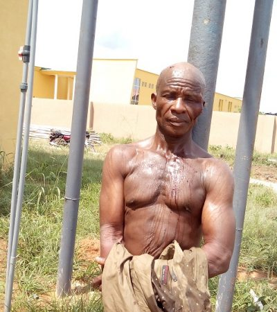 Caught-in-the-act: 62 Yr-Old Man Arrested For Raping 2 Minors In Imo
