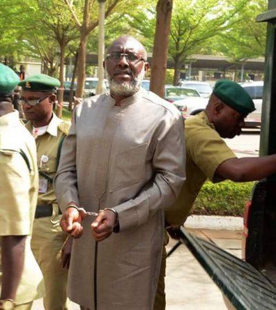 Dambazzau Behind Olisa Metuh Being Handcuffed To Court