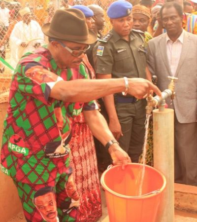 Obiano Commissions 27 Solar-Powered Boreholes in Aguata, Anambra East