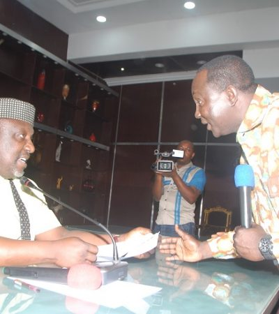 Governor Okorocha Receives Copy Of The Agreement Between Labour And Government From Comrade Wabba