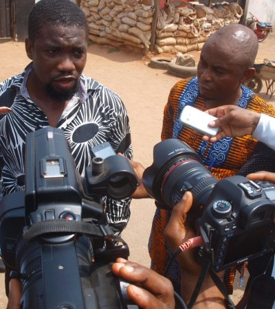 Pandemonium In Imo As Civil Defence Officers Shoot Journalists Over Road Safety Extortion