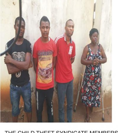 4 Suspects In Police Net Over Child Trafficking