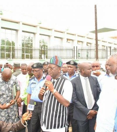 We Will Protect Our People Against Radical Groups – Gov. Ortom