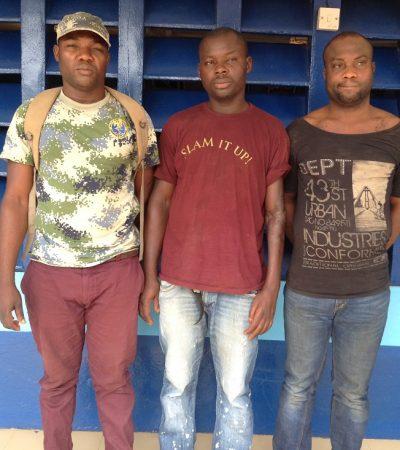 End Of Road For 3-Man Gang Of Fraudsters, Fake Naval Officer