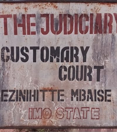 Magistrate, Lawyers Escape Death As Roof Collapses During Court Session In Imo