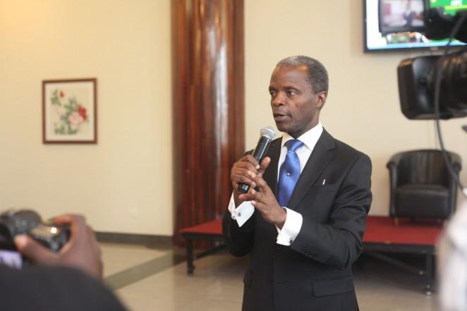 VP Osinbajo Opens New Yenagoa City On April 3