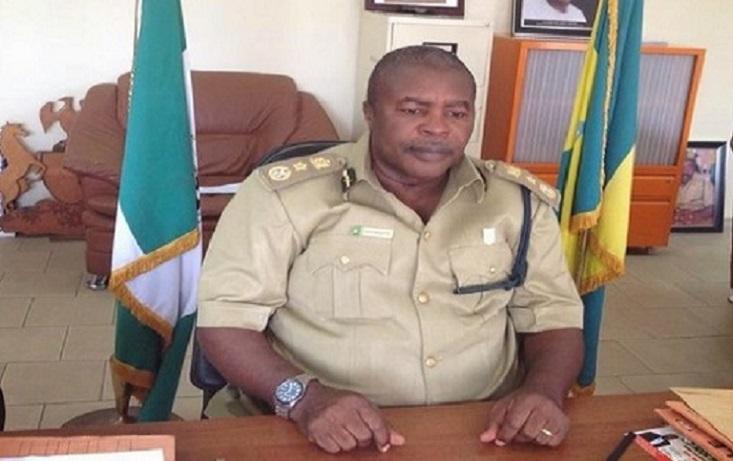 Comptroller-General of Nigerian Prison  Peter Ekpendu