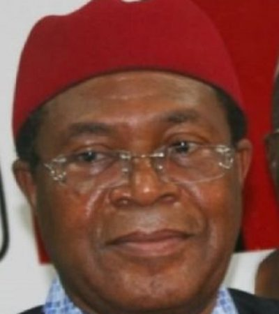 Am Not in APC, Although PDP Is Not Exciting – Nwodo