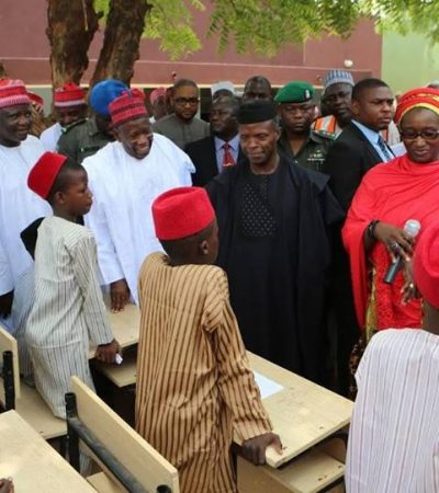 Ganduje Approves Admission Of More Pupils Into Kano -Borno Orphans Boarding School