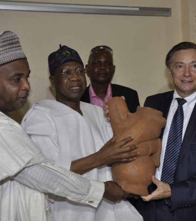 France Returns Artifact Illegally Exported From Nigeria