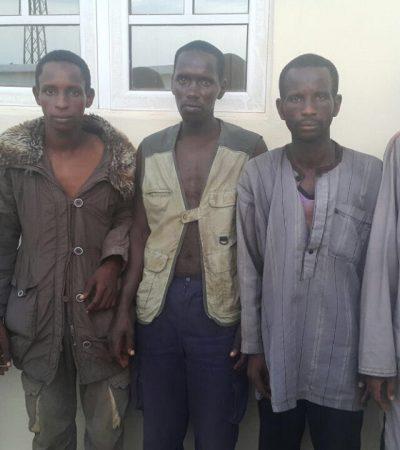 Enugu Massacre: Police Nabs Five Fulani Militia Men [Photograph]