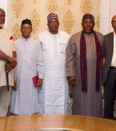 El Rufai, Abubakar, Okorocha, Oyegun Meet With Ohaneze Leaders In Owerri Over Beheaded Woman, Herdsmen Etc