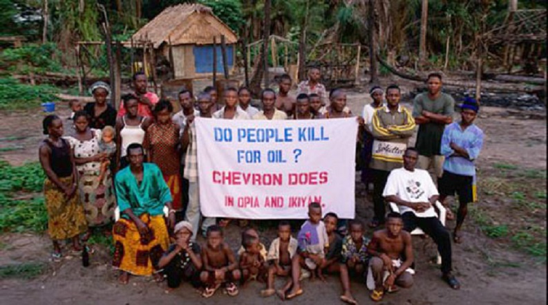 Community Vows To Continue Siege On Chevron