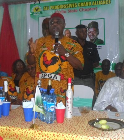APGA Crisis : Dissidents Settled With Spaghetti, Not Money, Says Oye