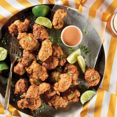 A Clam Fritter That Brings the Bahamas to Your Home