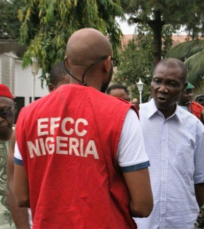 EFCC Finally Arrests APC Chieftain, Benjamin Apugo for N36m Land Scam