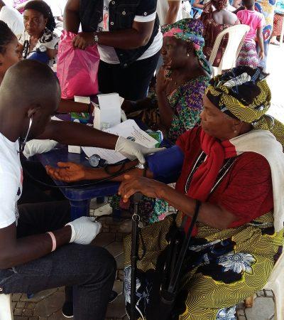 Excitement As Senator Uba Offers Free Medicare In hometown