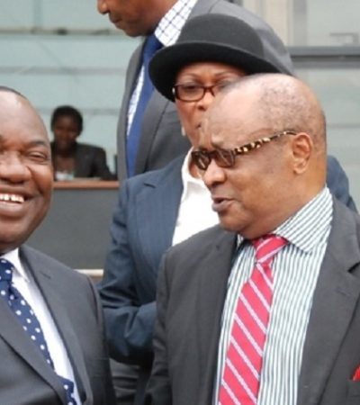 Sacked Enugu CJ Backs Down