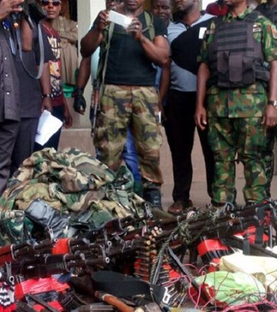 Niger Delta Militants Surrender Weapons In Rivers State