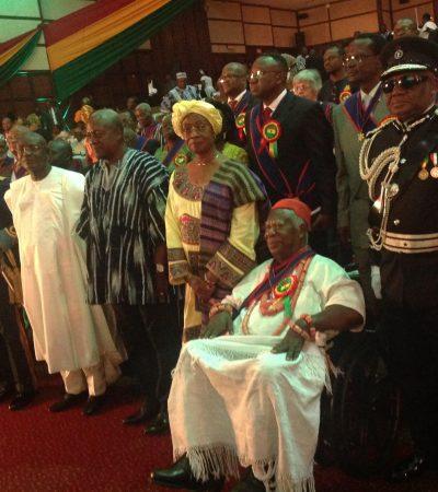 NLC Trustee And Obi Of Ogwashiukwu Professor Chukwuka Okonjo Receives Ghana's National Award